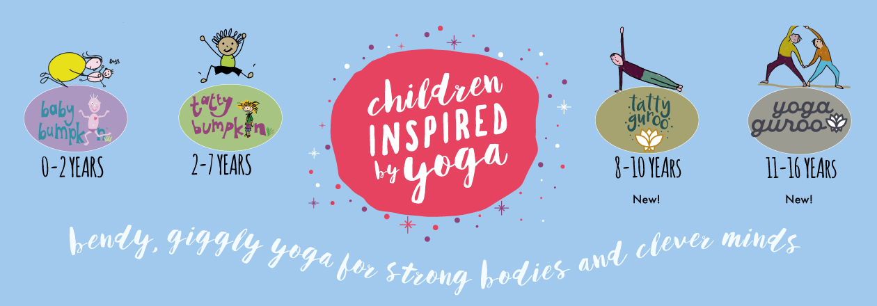 Children inspired by yoga